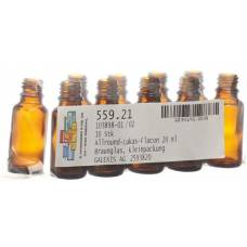 Anwander round lukas dropper bottle 20ml 10 pcs