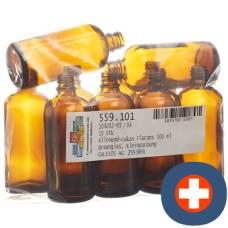 Anwander round lukas dropper bottle 100ml 10 pieces