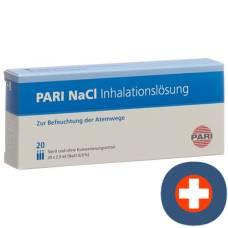 Pari inhalation nacl solution 20 amp 2.5 ml