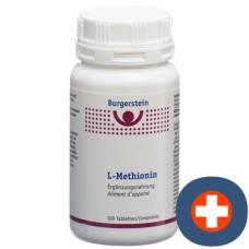 Burgerstein L-methionine tbl 100 pcs