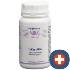 Burgerstein L-carnitine tbl Ds 100 pcs