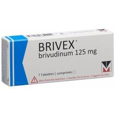 Brivex tbl 125 mg of 7 pcs