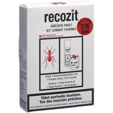 Recozit ants pack action with free spray