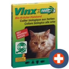 Green vinx neem herbal collar 35cm cat
