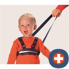 Bibi children running and protection belt
