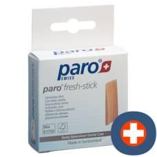 Paro fresh stick tooth wood medium mint 96 pcs