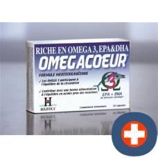 Holistica omega coeur cape 60 pcs