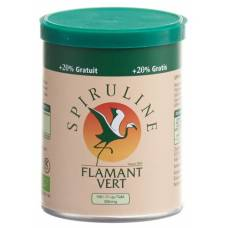 Spirulina flamant vert bio tablets 500 mg ds 100 pcs