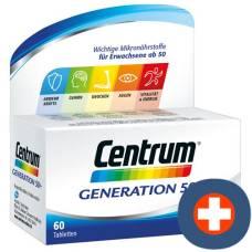 Centrum generation 50+ tabl 60 pcs
