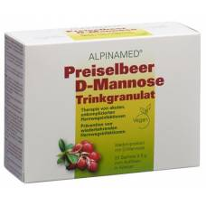 Alpinamed cranberry d-mannose beverage granules 20 btl 5 g