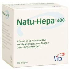 Natu hepa drag 600 mg 100 pcs