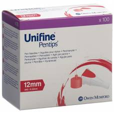 Unifine pentips needles 29g 0.33x12mm 100 pcs