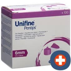 Unifine pentips needles 31g 0.25x6mm 100 pcs
