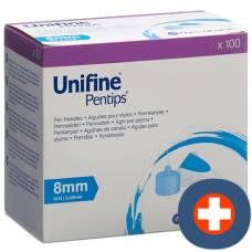 Unifine pentips needles 31g 0.25x8mm 100 pcs