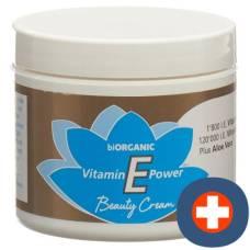 Biorganic vitamin e beauty cream 4 oz ds