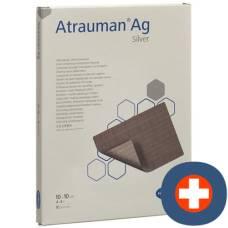 Atrauman ag compresses 10x10cm sterile 10 pcs