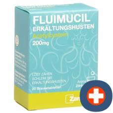 Fluimucil erkältungshusten brausetabl 200 mg of 20 pcs