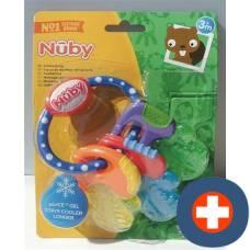 Nuby teether key with ice gel