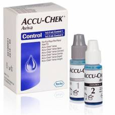 Accu-chek aviva control solution 2 x 2.5 ml
