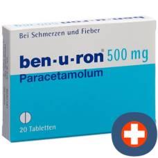 Ben-u-ron tablets 500 mg 20 pieces