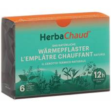 Herbachaud heating patches 19x7cm 6 pcs