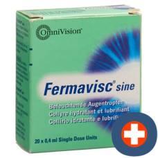 Fermavisc sine gd opht 20 monodos 0.4 ml