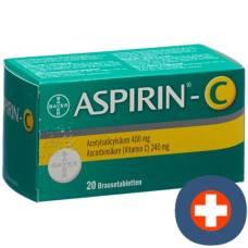 Aspirin c brausetabl 20 pcs