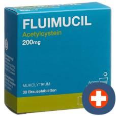 Fluimucil brausetabl 200 mg adults citron 30 pcs
