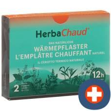 Herbachaud heating patches 19x7cm 2 pcs