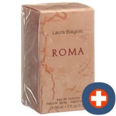 Laura biagiotti roma donna eau de toilette natural nat spr 50 ml