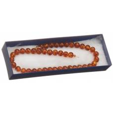 Core real amber ball necklace 8mm / 35cm bébé