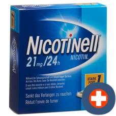 Nicotinell 1 strongly matrixpfl 21 mg / 24h 21 pcs