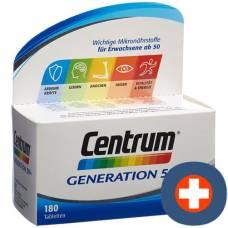 Centrum generation 50+ tabl 180 pcs
