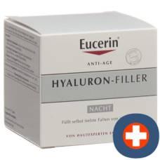 Eucerin hyaluron-filler night dry skin 50 ml pot