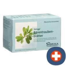 Sidroga bearberry leaves 20 btl 2 g