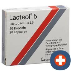 Lacteol 5 kaps 20 pcs