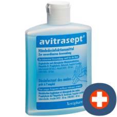 Avitrasept hand sanitizer liq fl 150 ml