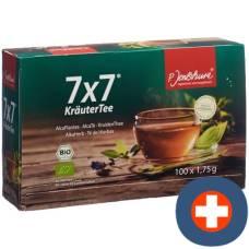 Jentschura 7x7 herbal tea battalion 100 pcs