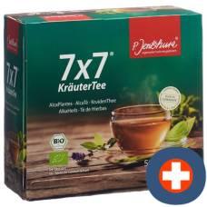 Jentschura 7x7 herbal tea btl 50 pcs