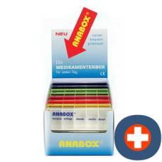 Anabox display medidispenser 1day à 16 pieces