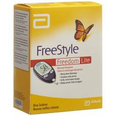Abbott freestyle freedom lite blood glucose monitoring system set