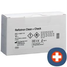 Reflotron clean + check qualitätskontr 15 pcs