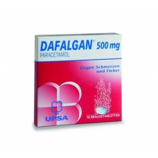 Dafalgan brausetabl 500 mg 16 pcs
