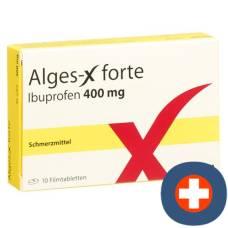 Alges-x forte filmtabl 400 mg of 10 pcs
