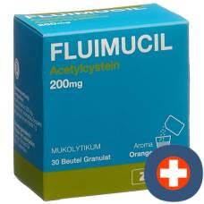 Fluimucil gran 200 mg adults (d) btl 30 pcs
