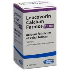 Leucovorin calcium farmos tbl 15 mg ds 10 pcs