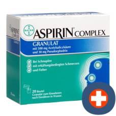 Aspirin complex gran btl 20 pcs