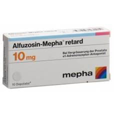 Alfuzosin mepha retard depotabs 10 mg 10 pcs