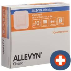 Allevyn adhesive wound dressing 10x10cm 10 pcs