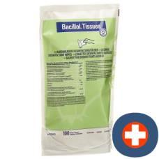 Bacillol tissue surface disinfectant refill 100 pcs